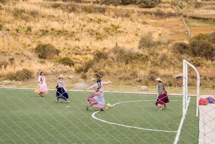 3 - Situacion de gol - copacabana bolivia