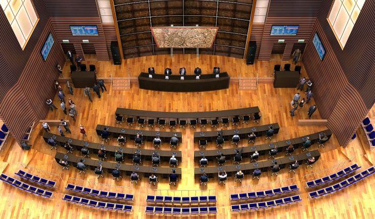 Imagen Recinto de Sesiones Virtual