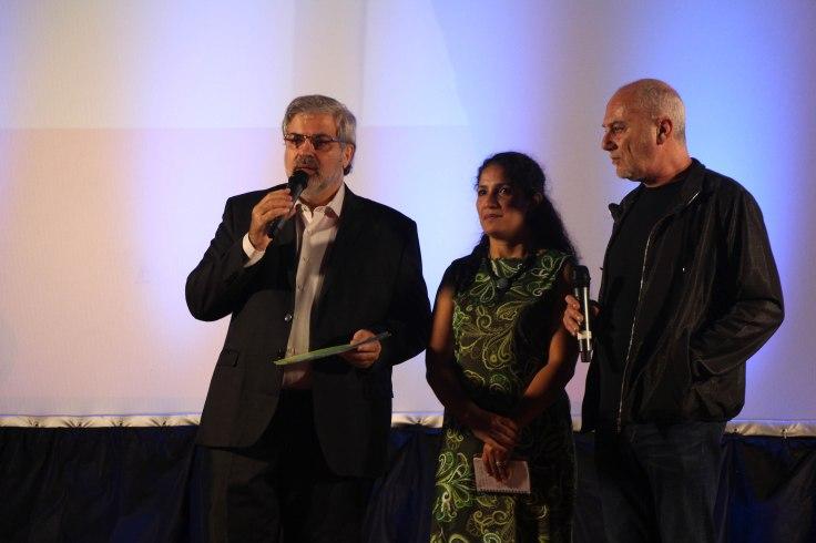 Guillermo Saura entrega premio RECAM