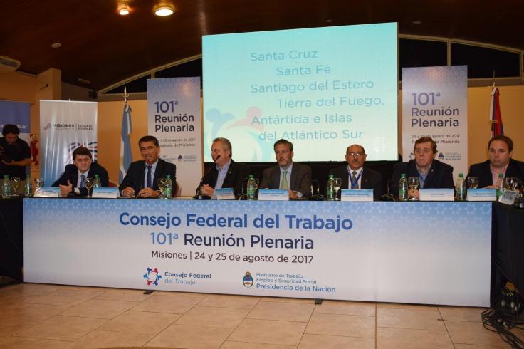 asamblea consejo federal del trabajo 2 passalacqua