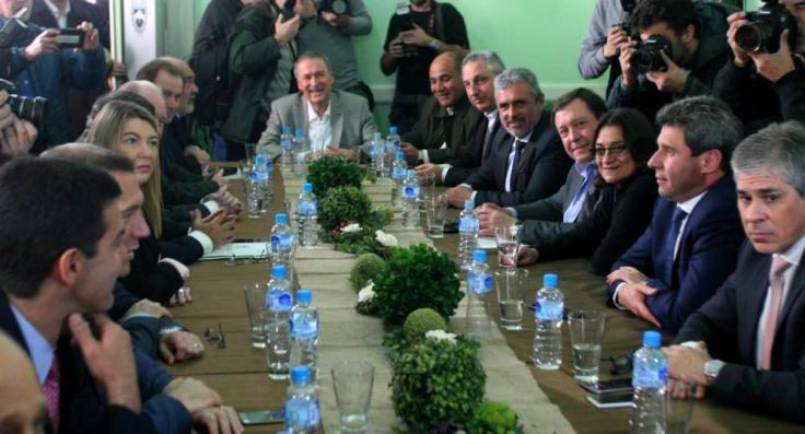 passalacqua reunión de gobernadores por tema fondo del conurbano 6 septiembre 17 2 foto ignacio petunchi