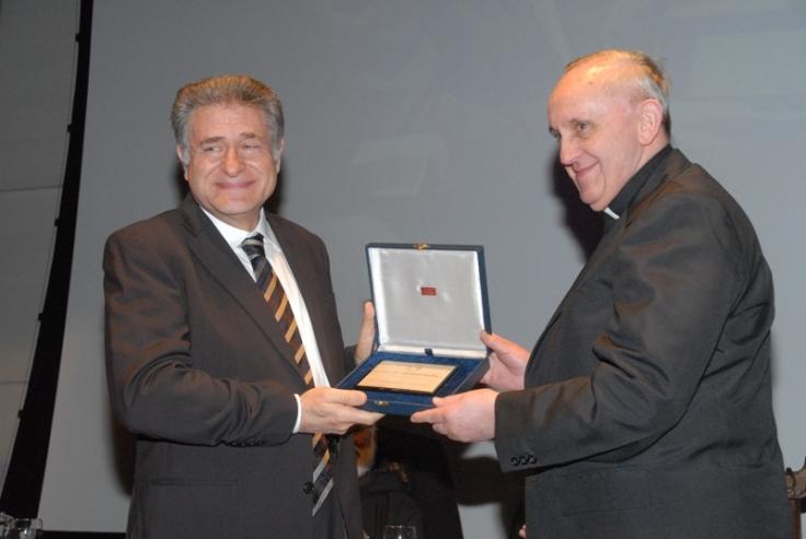 Rabino Skorka en la UCA 2