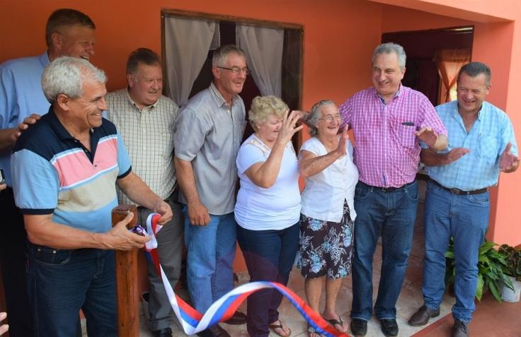 passalacqua entrega de viviendas rurales
