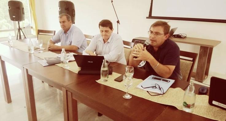 Reunión de intendentes de la CODEIM con el Ministro Safrán