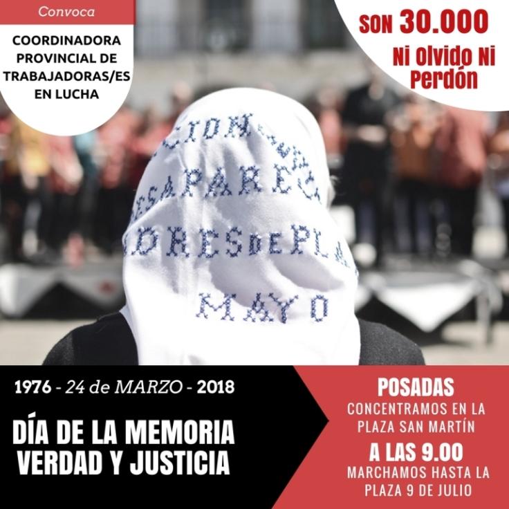 MARCHA 24 DE MARZO
