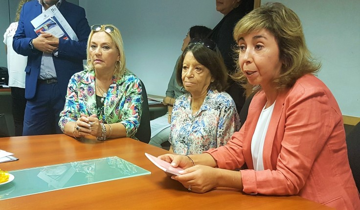 María Alejandra Méndez, Graciela Depetris y Raquel Martínez comision de salud lazos que atan a la vida (2)