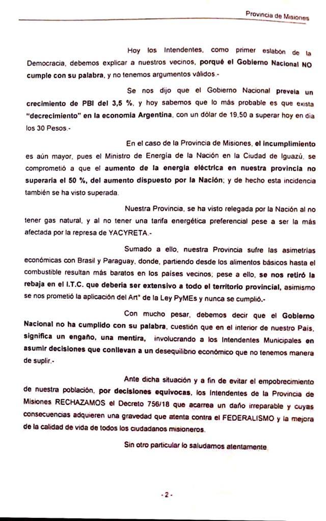 Reunion de intendentes en san ignacio contra el dnu de macri fss (1)