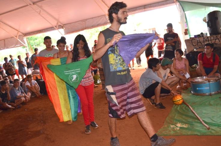 Campamento en Tekoa Arandu6