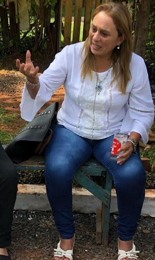Carina Pacheco, damnificada
