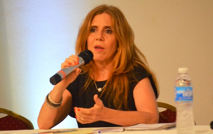 Irina Hauser, periodista de Página12-2