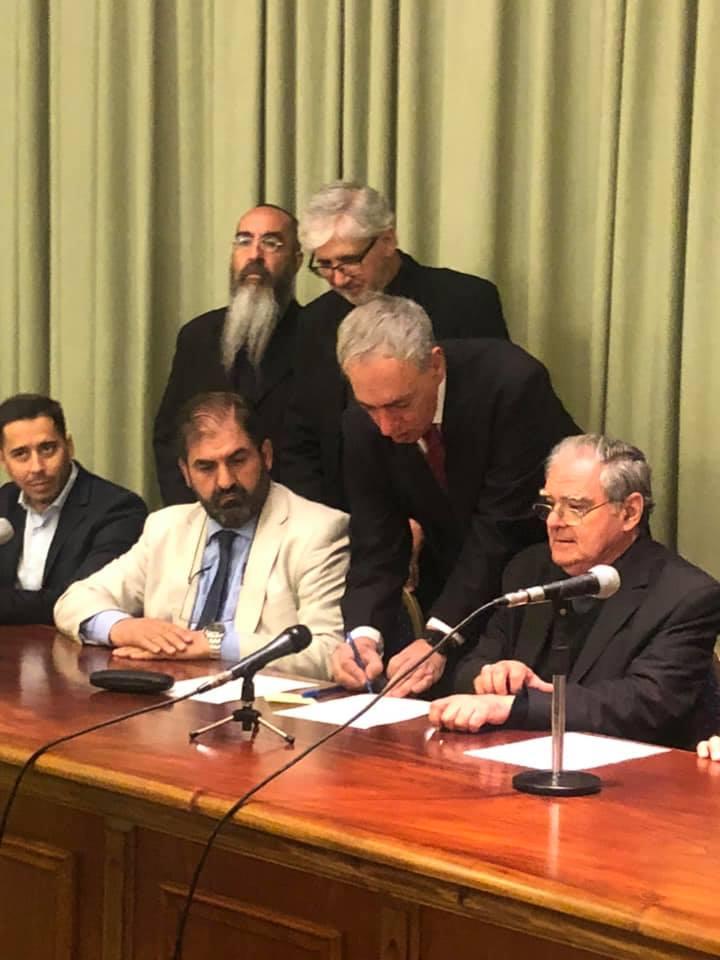 catolicos musulmanes y judios juntos 7 diciembre COMPROMISO INTERELIGIOSO 5