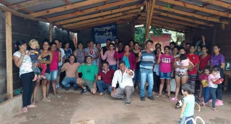 Gildo Onorato se reunió con militantes del Movimiento Evita Misiones2