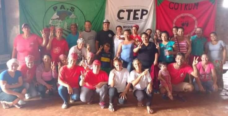 Gildo Onorato se reunió con militantes del Movimiento Evita Misiones3