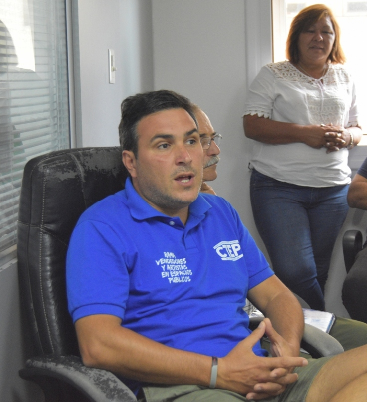 Gildo Onorato, secretario de Políticas Sociales del Mov. Evita3