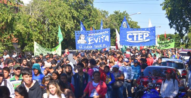 Marcha contra los tarifazos en Misiones