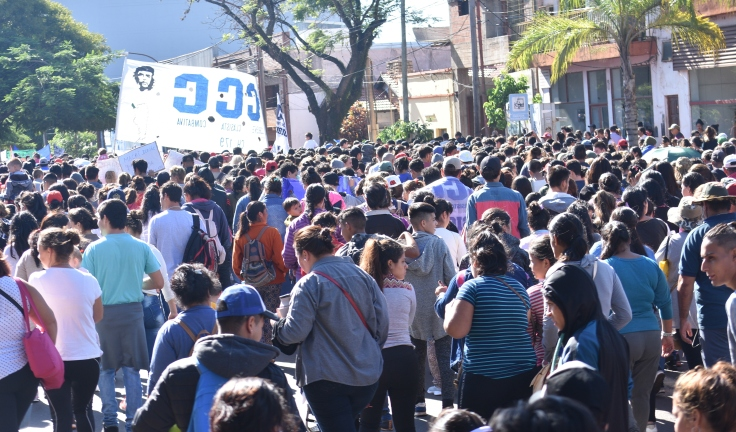 Marcha contra los tarifazos en Misiones1