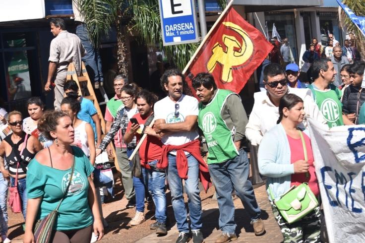 Marcha contra los tarifazos en Misiones12