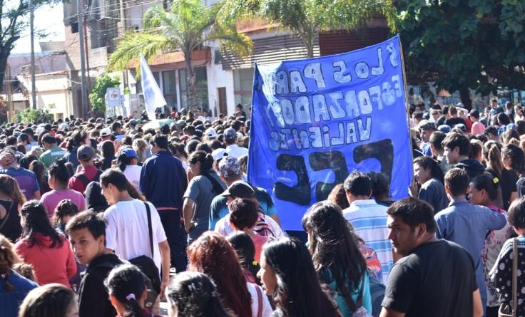 Marcha contra los tarifazos en Misiones2