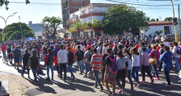 Marcha contra los tarifazos en Misiones5