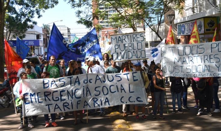 Marcha contra los tarifazos en Misiones8