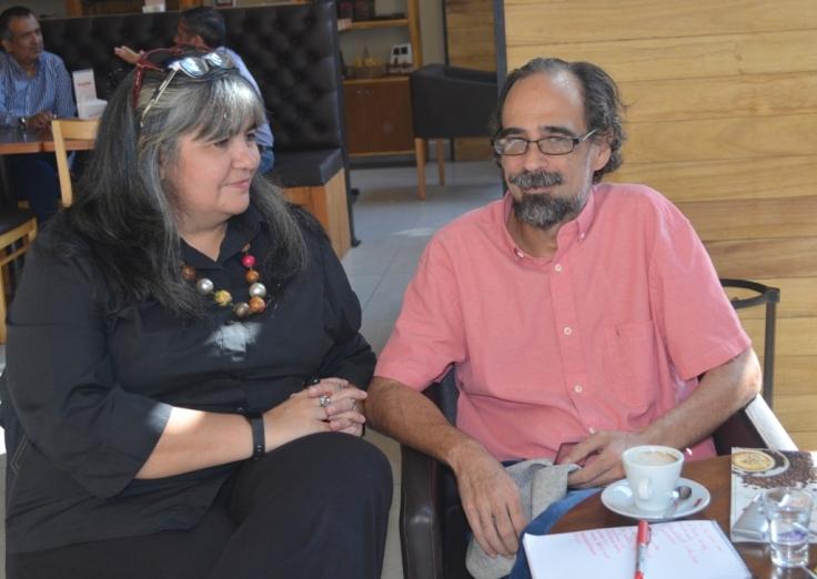 Gastón Gularte, director de Cara Sucia y Marisa Hassan, productora1