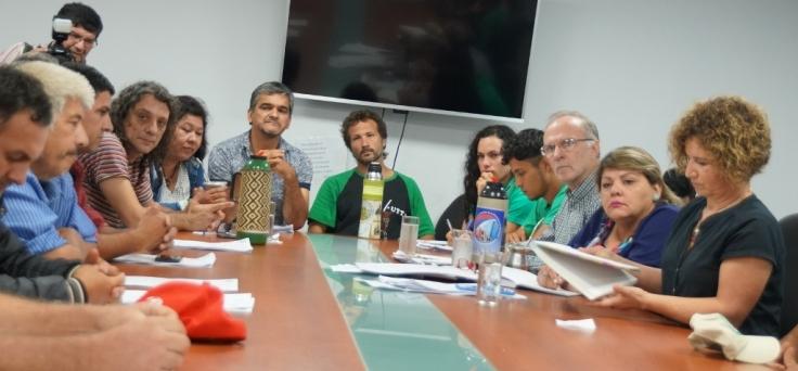 Organizaciones campesinas en la Cámara de Diputados de la provincia3