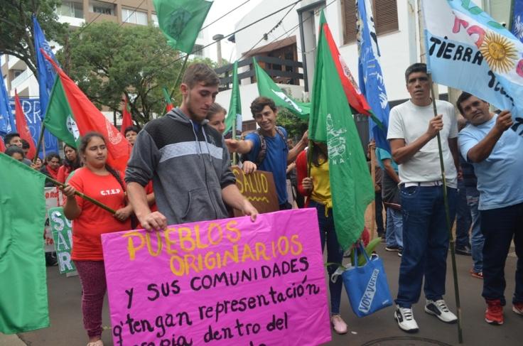 Organizaciones campesinas llegaron hasta Posadas2