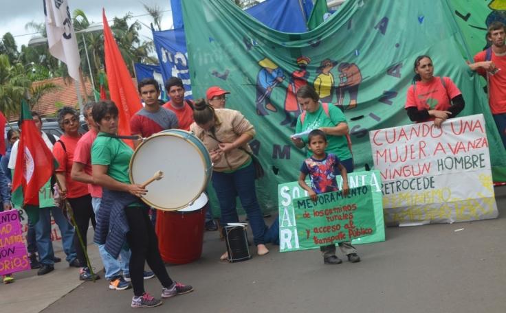 Organizaciones campesinas llegaron hasta Posadas3