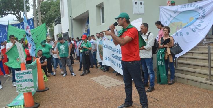 Organizaciones campesinas llegaron hasta Posadas8