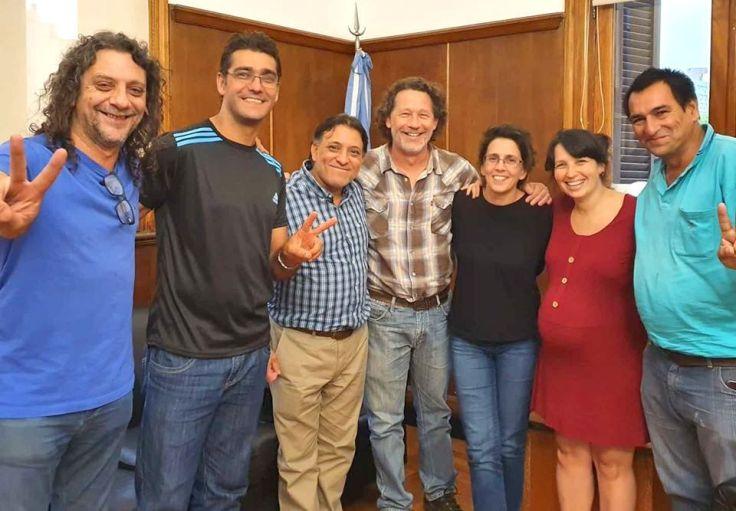 Delegación de Misiones con el Sec. de Agricultura Familiar en lanzamiento de la UTEP - copia