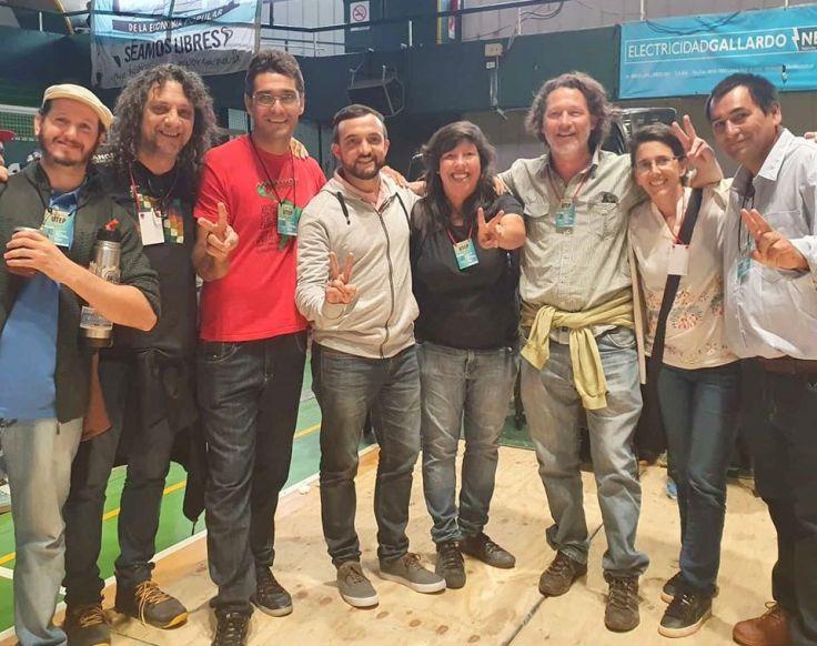 Delegación de Misiones en el lanzamiento de la UTEP en Buenos Aires - copia