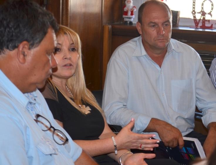 Intendentes de Misiones con la secretaria nacional de Abordaje Integral con las provincias1
