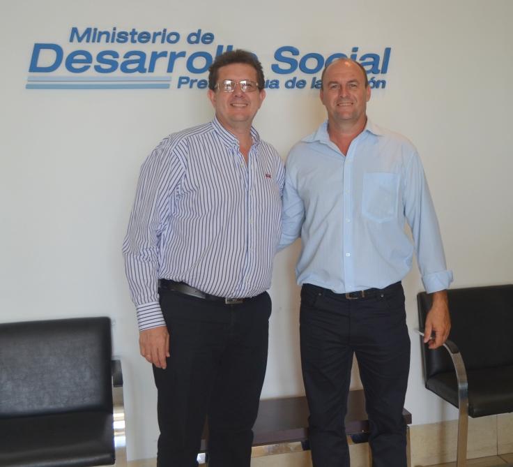 Intendentes de San Vicente, Fabián Rodrígez y de Aurora, Carlos Goring (PAyS