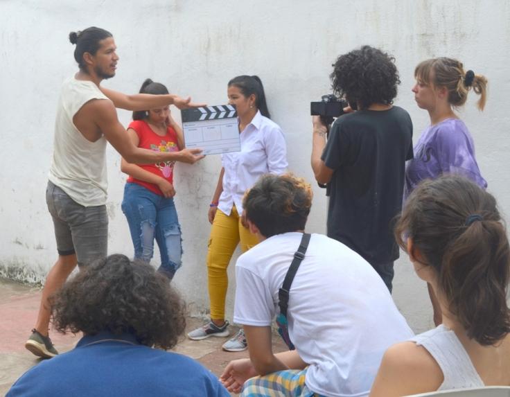 Los misioneros Salguero y Paniagua dictaron un Taller de Entrenamiento Actoral frente a cámara1