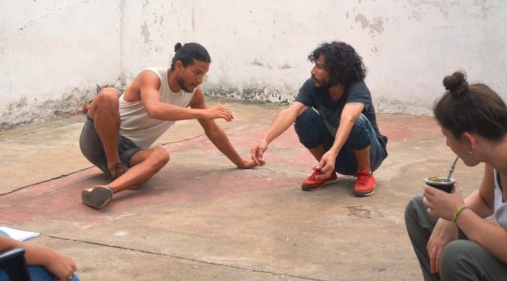 Los misioneros Salguero y Paniagua dictaron un Taller de Entrenamiento Actoral frente a cámara2