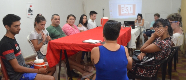 Taller de caapacitación sobre la Ley de la ESI a cargo de docentes1