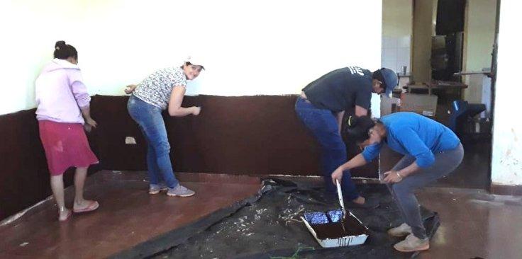 Las organizaciones sociales pusieron manos a la obra en escuelas12