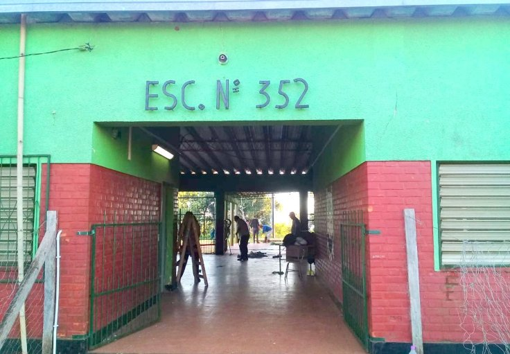 Las organizaciones sociales pusieron manos a la obra en escuelas16