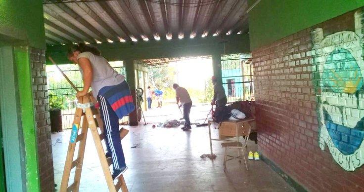 Las organizaciones sociales pusieron manos a la obra en escuelas5