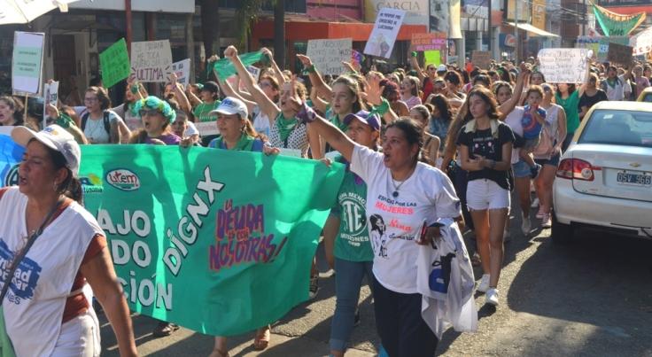 Movilización del 4to Paro Internacional de Mujeres y Disidencias Trabajadoras3