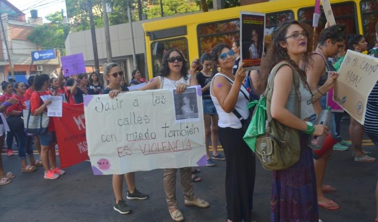 Movilización del 4to Paro Internacional de Mujeres y Disidencias Trabajadoras7