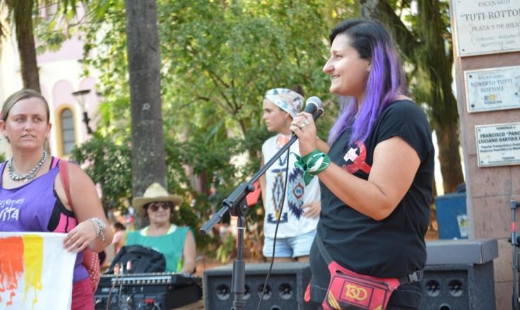 Rebeca Barberán, FEDE-PC integrante del la Coordinadora de Trabajadoras Disidentes