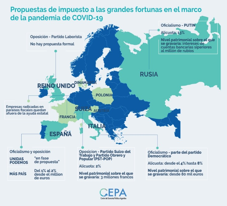 cepa mapa informe UE