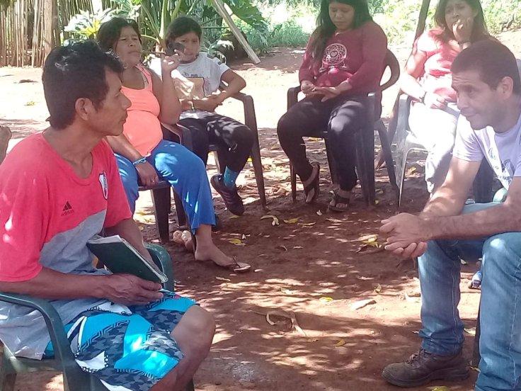 Comunidad Iguá Porá, de San Vicente